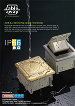 IP66 Rated Floor Outlet Box