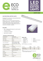 LED5FT-60AC spec sheet cover