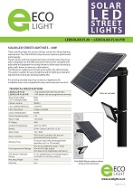 LEDSOLAR-FL30 spec sheet cover
