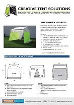 Pop N Work Tents Pop N Work Industrial Pop Up Shelters