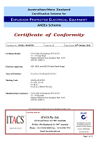 A2F ANZ Ex 09 4079X-2 Certificate Page 01