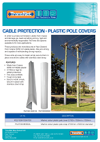 Pole Cover Pole Wrap