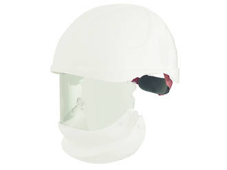ErgoS Intec Power Helmet with Integrated Face Shield, 28 cal/cm2