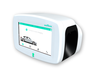 Wallbox Commander EV Charging Station