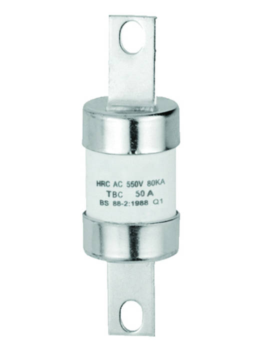 HRC Fuse Link Central Tags 111mm Fixing Centre - TBC Type