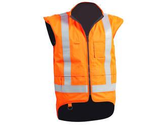 Flame Retardant TTMC-W17 Vest with Fleece Lining