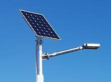 LEDSOLAR-ST20xxx - Solar LED Streetlight Kit, 20W