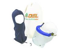 12 Cal Clear Face Shield Kit