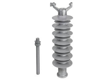 Silicone Vertical Clamp Top Insulator - 33kV