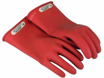 Class 00 Rubber Insulating Gloves - Up To 500V