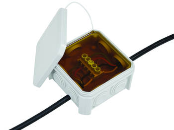 GUROSIL-Gel Filled Junction Box Including Terminal Strip