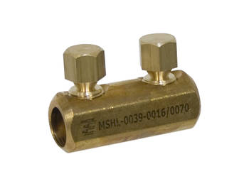 Brass Shearbolt Connector for AL or CU Conductors up to 1kV