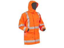 Flame Retardant Antistatic TTMC-W17 Jacket with Fleece Lining