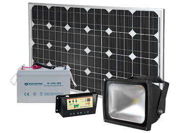 Solar Flood Light Kits 30W & 40W