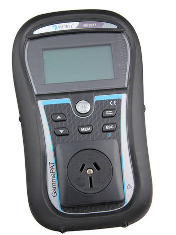 MI3311 Gamma Pat Portable Appliance Tester