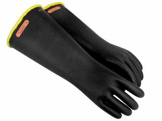 Class 4 Rubber Insulating Gloves - Up To 40,000V