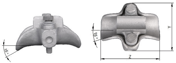 Aluminium Pivot Support Clamp