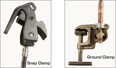 Temp Earth Sets Snap on Clamp 1