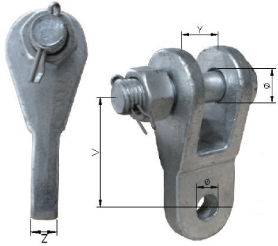 Twisted Clevis Tongues